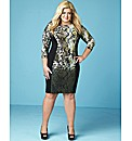 Gemma Collins Printed Bodycon Dress