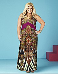Gemma Collins Printed Maxi Dress