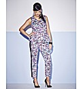 Sequin Print Trousers