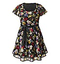AX Paris Black Floral Multi Dress