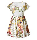 AX Paris Cream Floral Dress