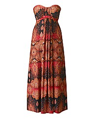 AX Paris Red Paisley Maxi Dress