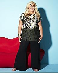 Gemma Collins Snake Print T Shirt
