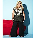 Gemma Collins Snake Print T Shirt