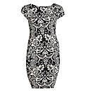 AX Paris Paisley BodyCon Midi Dress