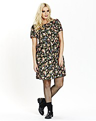 Floral Printed Doll Dress