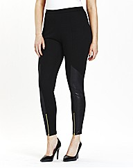 Pull On Biker Style Leggings