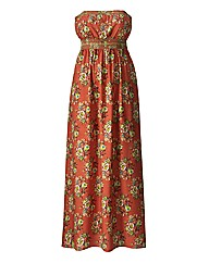 AX Paris Coral Print Maxi Dress