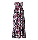 AX Paris Navy Floral Maxi Dress
