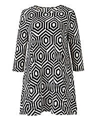 AX Paris Geo Swing Tunic