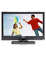 Sanyo 22in LED TV/DVD Combi