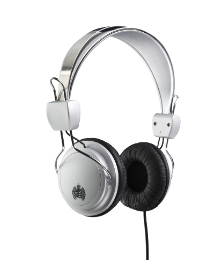 MOS Headphones Silv/Black