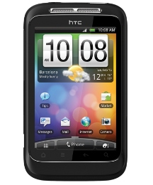 T-Mobile HTC Wildfire S Black Mobile