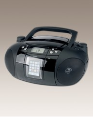 Goodmans iPod Docking CD Boombox