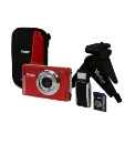 Vivitar 12MP Digital Camera Kit - Red