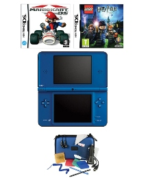 DSi XL Console Blue 2 Games Accessory