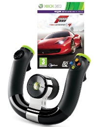 Forza 4 XBox 360 Game + Wireless Wheel