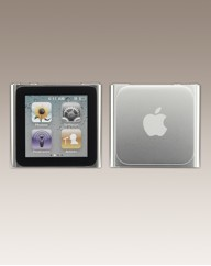 Apple iPod Nano 8GB - 6th Gen - Silver