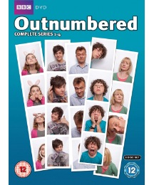 Outnumbered Series 1 to 4 DVD