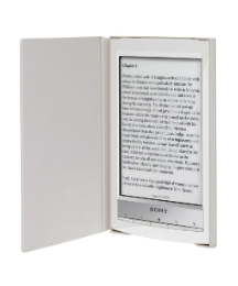 Sony eBook Reader With Case - White
