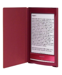 Sony eBook Reader With Case - Red