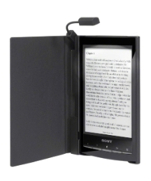 Sony eBook Reader & Lighted Case - Black