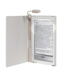 Sony eBook Reader & Lighted Case - White