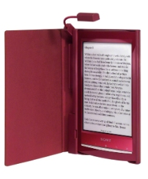 Sony eBook Reader & Lighted Case Red