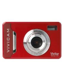 Vivitar 9MP Digital Camera - Red