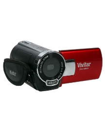 Vivitar 8MP Red Digital Camcorder