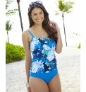 Tankini Look Swimsuit - Longer Length