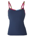 Beach to Beach Navy Tankini Top