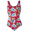 Beach To Beach Cherry Print Swimsuit
