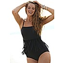 Splendour Bandeau Tassle Swimsuit