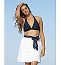 Beach To Beach White Beach Skirt