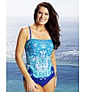 Joanna Hope Bandeau Swimsuit