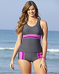 Beach To Beach Sporty Tankini