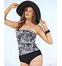 Beach to Beach Tankini Look Swimsuit