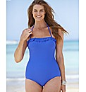 Beach To Beach Bandeau Swimsuit - Longer