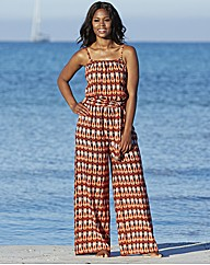 Simply Yours Jumpsuit Cover Up