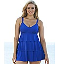 Beach To Beach Ruffle Swimdress