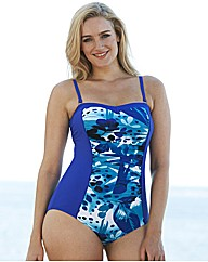 Bandeau Swimsuit - Longer Length