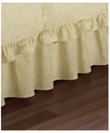 Monique Fitted Valance Sheet