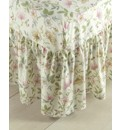 Cottage Garden Fitted Valance Sheet