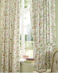 Cottage Garden Curtains & Tie Backs