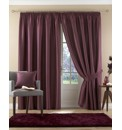 Java Faux Silk Lined Eyelet Curtains