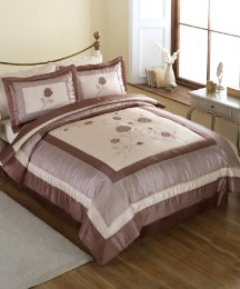 Helmsley Double Quilted Throwover Set&BV