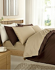 Plain Dyed Percale Duvet Cover