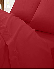 Plain Dyed Percale Flat Sheet