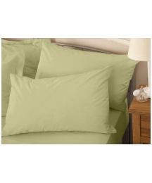 Plain Dyed Percale Housewife Pillowcases